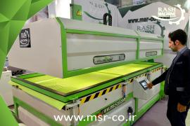 Single tray vacuum press